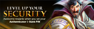 Level Up Security lobby banner