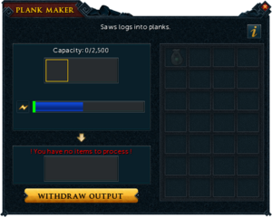 Plank maker interface