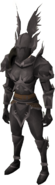 Shadow Knight outfit equipped (female)