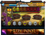 Treasure Hunter Prize Pool