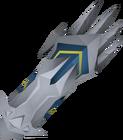 White claw detail