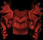 Dragon platebody (sp) detail