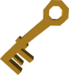House key detail
