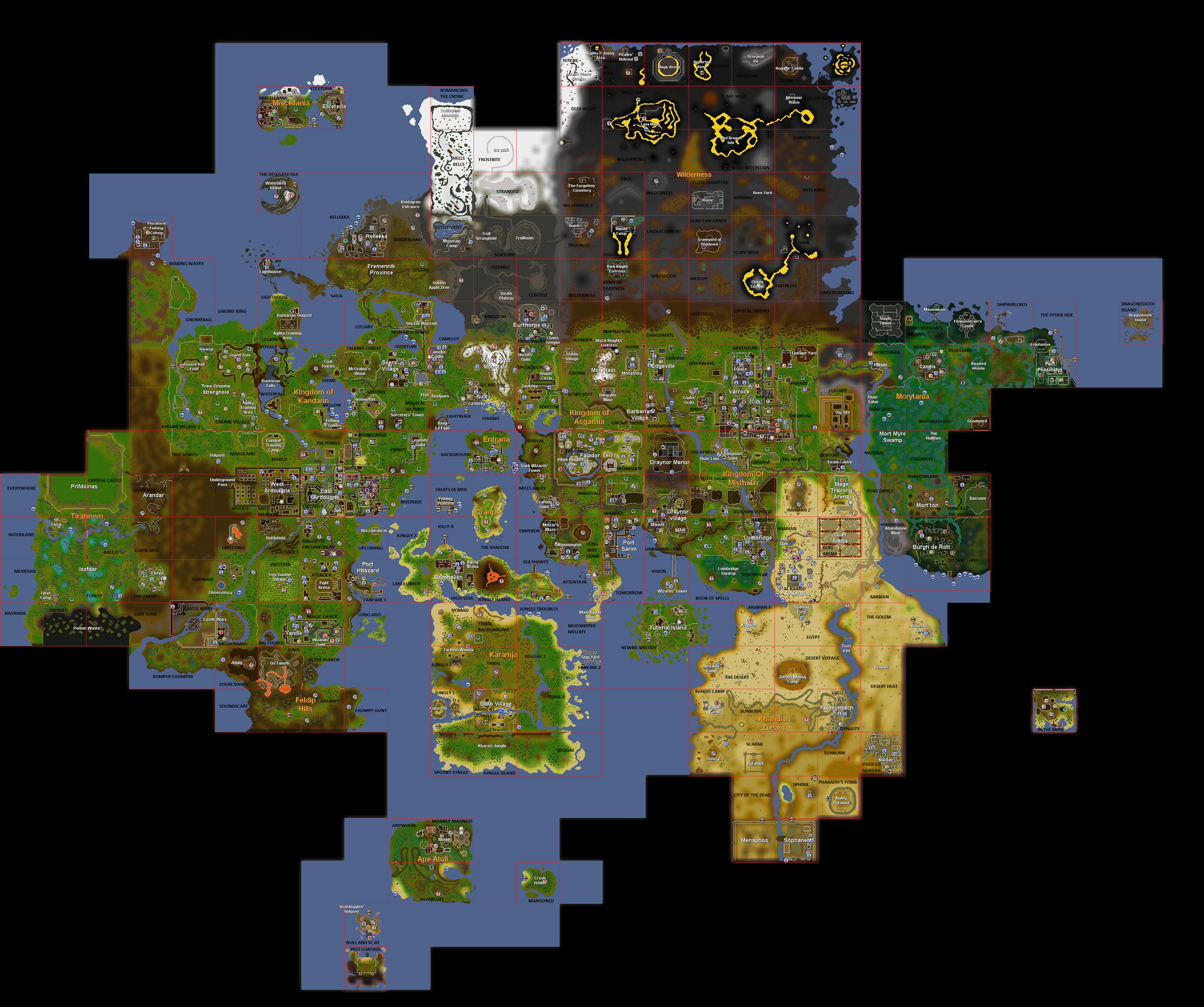 Image - Music Map.png | RuneScape Wiki | FANDOM powered by Wikia