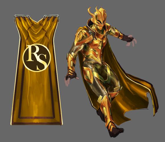 Super September superior hero concept art