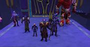 Zamorak and his allies