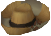 Animal farmer hat detail