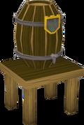 Beer barrel built