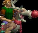 Bright reindeer-terrorbird mount