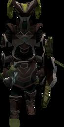 Coward in armour