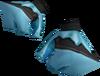 Crystal gloves detail