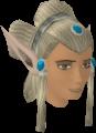 Elf-style wig (silver, female) chathead