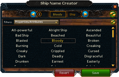 Player-owned port/Ship names | RuneScape Wiki | FANDOM powered by Wikia