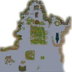 Southern Sea map
