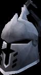 Steel heraldic helm (Horse) detail