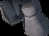 White gauntlets