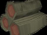 Cursed magic logs