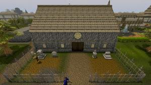 East Ardougne church