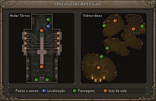Mapa Oficina do Artesão