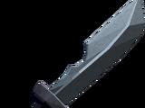 Off-hand iron ceremonial sword II