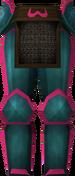Rune platelegs (Zamorak) detail
