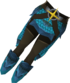 Blessed dragonhide chaps (Saradomin) detail