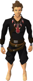 Brawler's blood necklace equipped