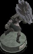 Duellist's cap (tier 4) statue