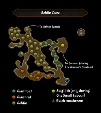 Goblin Cave map