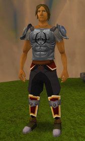 Hardened fighter torso equipped
