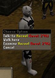 Hazeel combat level