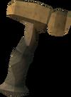 Martelo de marmaros detalhe