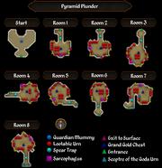 Pyramid Plunder map