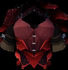 Red dragonhide body detail