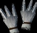 Werewolf claws (white, male)
