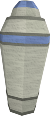 Canopic jar (spleen) detail