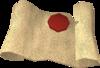 Lesser Demon Champion's scroll detail