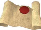 Lesser Demon Champion's scroll