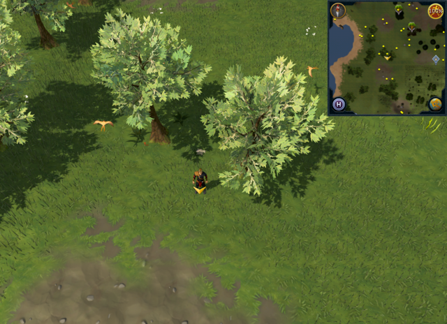 File:Scan clue Piscatoris Hunter area west of central Hunter training icon, close to trees.png