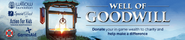 Well of Goodwill lobby banner