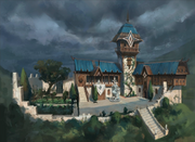 Edgeville Monastery concept art
