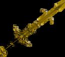 Golden Saradomin godsword