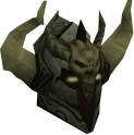 Malevolent helm (barrows) chathead