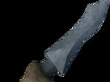 Off-hand bathus dagger