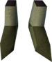 Snakeskin boots detail