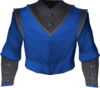 Academy magic robe top detail
