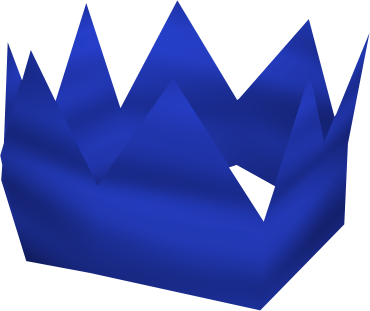 BLUE PARTY HAT