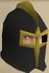 Elite black full helm chathead old