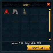Loot tab