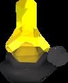 Oil lamp detail